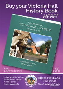 Buy the Victoria Hall history book